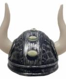 Viking helm met twee hoorns