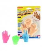 Vingerhandjes poppetjes 3 kleuren