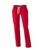 Vintage joggingbroek rood voor dames