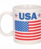 Vlag amerika beker 300 ml