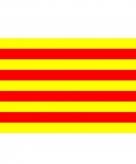 Vlag catalonie 90 x 150 cm
