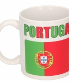 Vlag portugal beker 300 ml