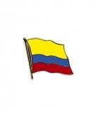 Vlag speldjes colombia