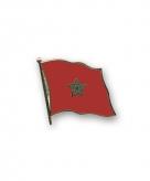 Vlag speldjes marokko