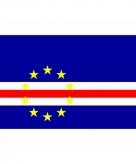 Vlag van kaapverdie mini formaat 60 x 90 cm