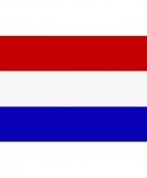 Vlag van nederland mini formaat 60 x 90 cm