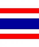 Vlag van thailand mini formaat 60 x 90 cm