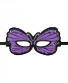 Vlinder oogmasker paars