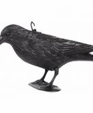 Vogelverjager kraai van kunststof 34 cm