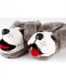 Volwassenen dieren pantoffels hond 10059309