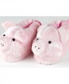 Volwassenen dieren pantoffels varken 10059311