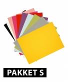 Voordeelpakket a4 hobby karton 18x