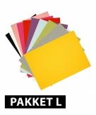 Voordeelpakket a4 hobby karton 72x