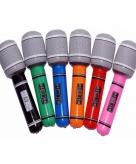 Voordelige opblaas microfoons