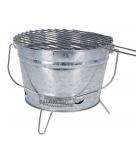 Voordelige ronde barbecue zink 28 cm