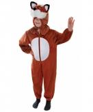 Vossenpak voor kids verkleedkleding