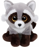 Wasbeer knuffel ty beanie bandit 24 cm