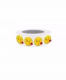 Washi plakband emoticons