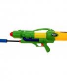 Waterschieter pistool groen met pomp
