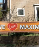 We love maxima spandoek 180x40 cm