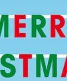 Wenslijn merry christmas