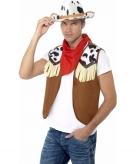 Western verkleed set voor heren