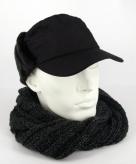 Winter pet bont zwart
