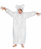 Wit ijsberen pak voor kinderen