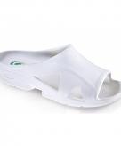 Witte bio slippers voor dames