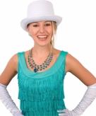 Witte hoge hoeden
