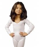 Witte kinderbody