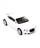 Witte modelauto bentley continental gt