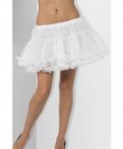 Witte petticoats met satijnen band