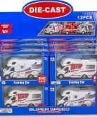 Witte speelgoed camper voor kinderen 17 cm