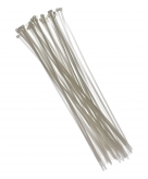 Witte tiewraps 40 cm 50 stuks