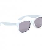 Witte wayfarer zonnebril voor kinderen