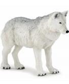 Witte wolf speeldiertje 9 5 cm