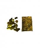 Zakken confetti goud 1 kilo