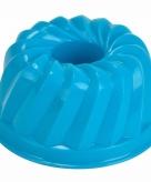 Zand gebak vormpje blauw