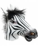 Zebra maskers voor volwassenen