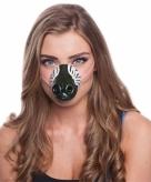 Zebra neus masker voor volwassenen