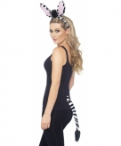 Zebra setje voor volwassenen 10078163