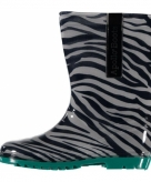 Zebraprint regenlaarzen voor kinderen