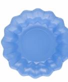 Zee blauwe snack schaaltjes 24 cm