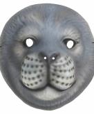 Zeehond kindermasker plastic