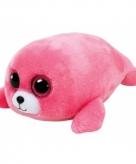 Zeehond knuffel ty beanie 24 cm