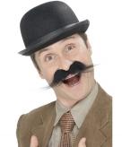 Zelfklevende detective snor