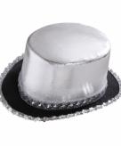 Zilveren michael jackson hoed