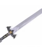 Zilveren nep zwaard 58 cm
