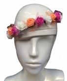 Zomer hoofdband met bloemen